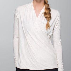 Lululemon Radiant Wrap Top Shirt
